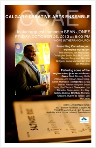 The CCAE features world-renowned trumpeter and Berklee professor Sean Jones